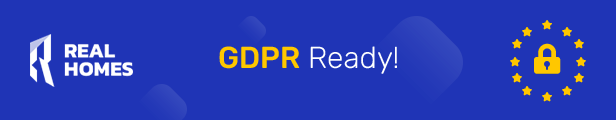 RealHomes is GDPR Ready