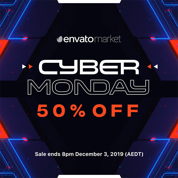 Cyber Monday - 50% Off - Sales Ends on December 3