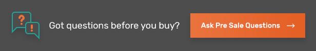 Ask Pre Sale Questions