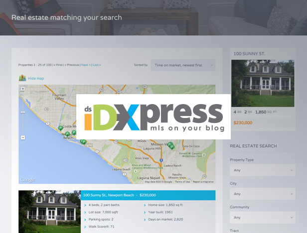dsIDXpress Plugin Support